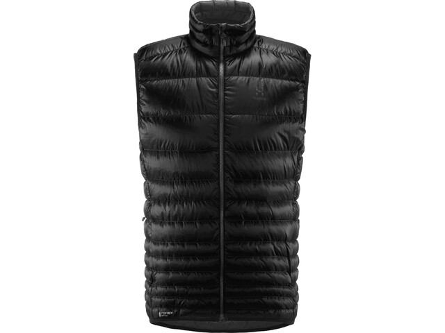 Haglöfs Essens Down Vest Men True Black/Magnetite